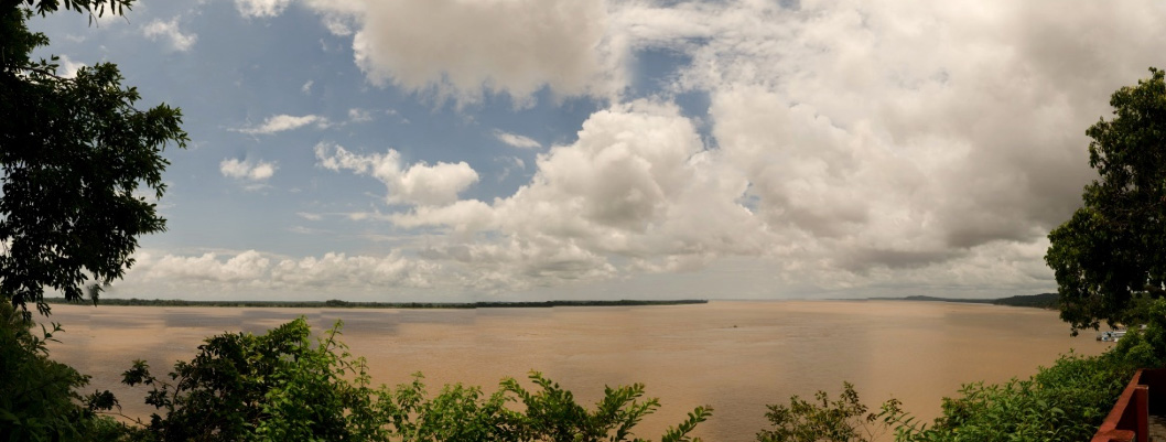 The Amazon river at Obidós, Pará, Brazil